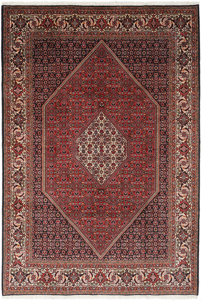 Bidjar Rug 203X295 Authentic  Oriental Handknotted Dark Red/Brown (Wool, Persia/Iran)