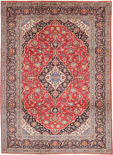 Keshan Rug 250X340 Authentic  Oriental Handknotted Rust Red/Brown Large (Wool, Persia/Iran)