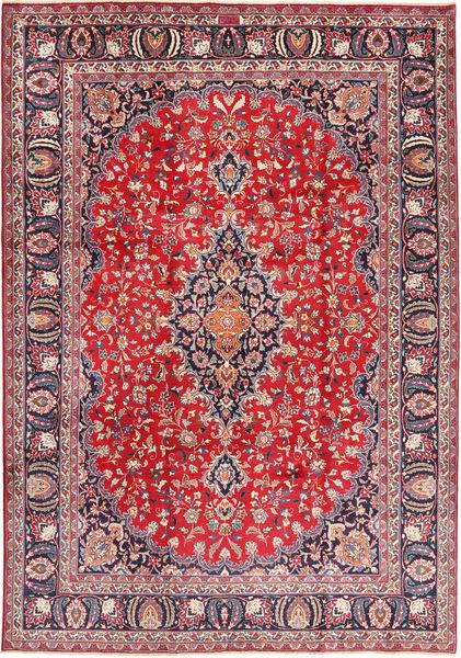 Mashad Rug 243X345 Authentic  Oriental Handknotted Light Grey/Crimson Red (Wool, Persia/Iran)