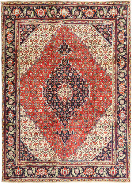 Tabriz Rug 240X330 Authentic  Oriental Handknotted Light Brown/Rust Red (Wool, Persia/Iran)