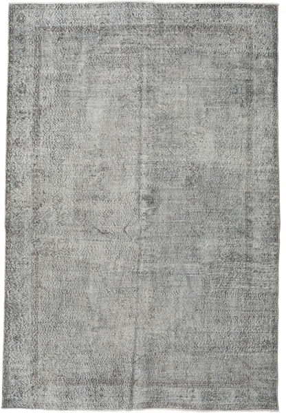 Colored Vintage Rug 191X284 Authentic  Modern Handknotted Light Grey/Dark Grey (Wool, Turkey)