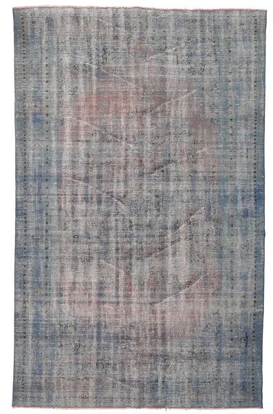 Colored Vintage Rug 166X272 Authentic  Modern Handknotted Light Grey/Dark Grey (Wool, Turkey)