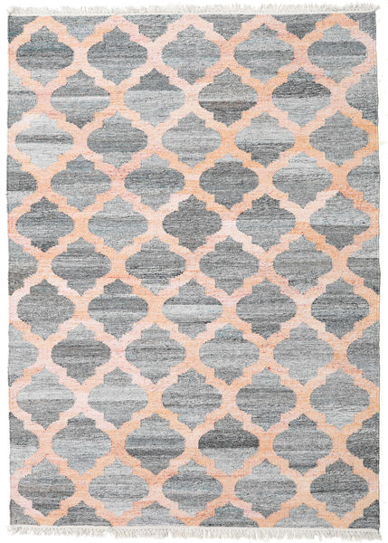 Outdoor Rug Kathi - Grey/Coral Rug 170X240 Authentic  Modern Handwoven Light Grey/Light Pink ( India)