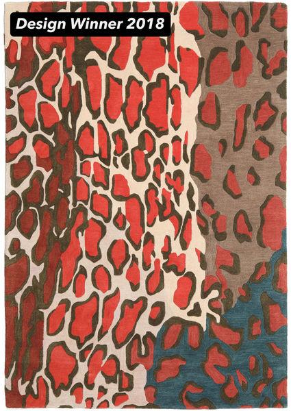Tilda - 2018 Rug 160X230 Modern Dark Grey/Crimson Red (Wool, India)