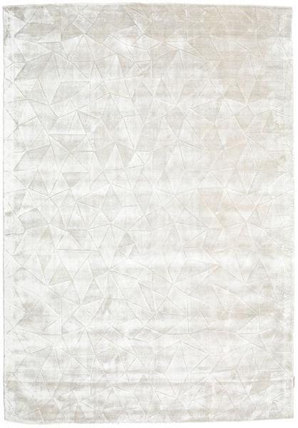 Crystal - Silver White Rug 160X230 Modern Dark Beige/Light Grey ( India)