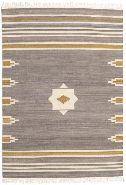 Tribal - Grey Rug 160X230 Authentic  Modern Handwoven Light Grey/Beige (Wool, India)