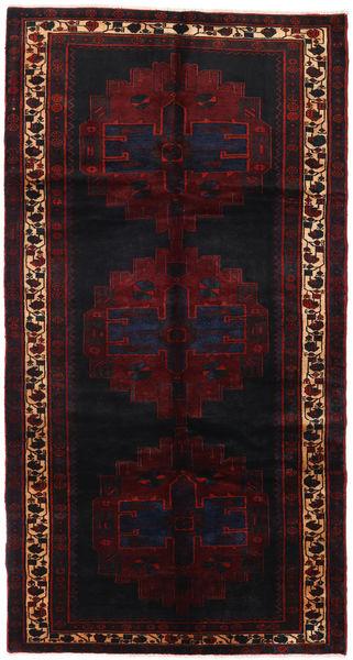 Saveh Rug 152X288 Authentic  Oriental Handknotted Hallway Runner  Dark Red (Wool, Persia/Iran)