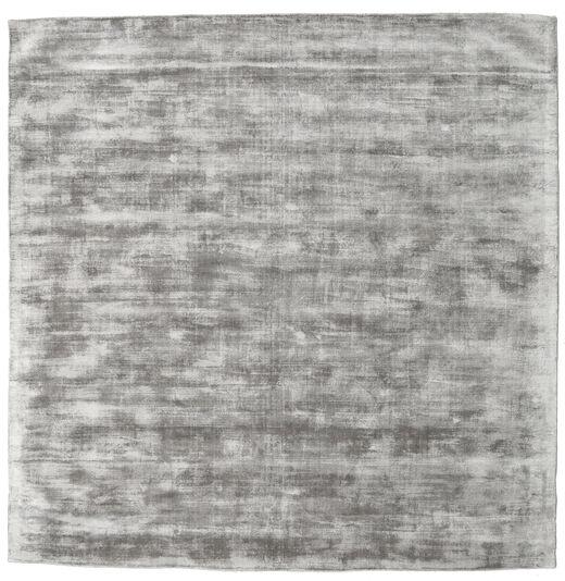Tribeca - Taupe Rug 250X250 Modern Square Light Grey Large ( India)