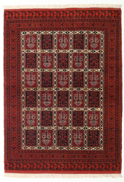 Turkaman Rug 109X148 Authentic  Oriental Handknotted Dark Red (Wool, Persia/Iran)