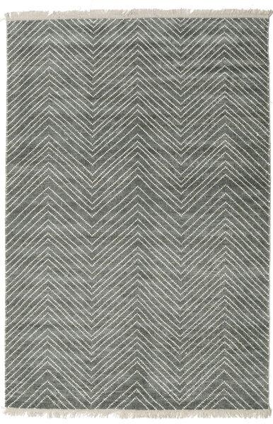Vanice - Grey Green Rug 160X230 Authentic  Modern Handknotted Light Grey/Dark Grey ( India)