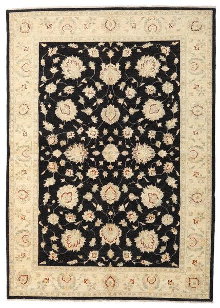 Ziegler Rug 168X236 Authentic  Oriental Handknotted Beige/Black (Wool, Afghanistan)