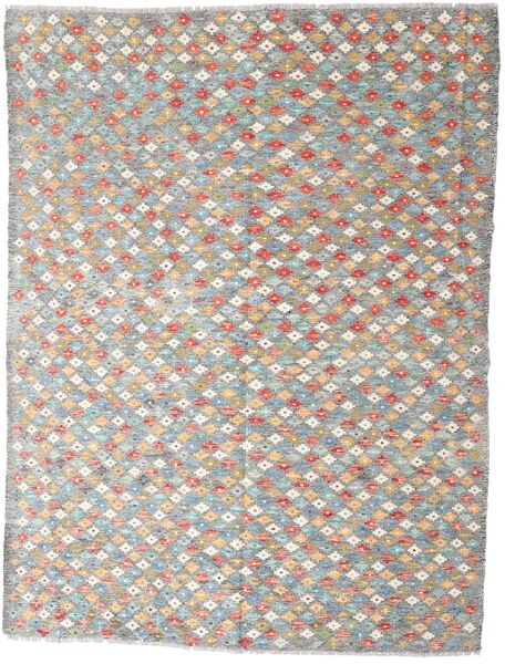Kilim Afghan Old Style Rug 167X225 Authentic  Oriental Handwoven Light Grey/Beige (Wool, Afghanistan)