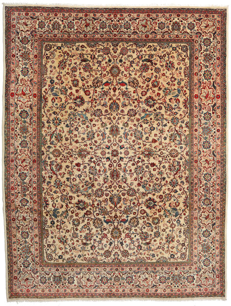 Sarouk Rug 274X357 Authentic  Oriental Handknotted Dark Brown/Light Brown Large (Wool, Persia/Iran)