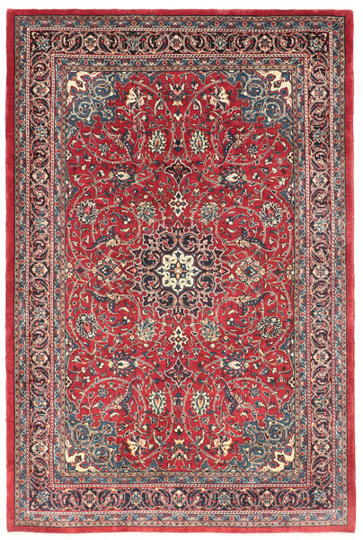 Mahal Rug 220X335 Authentic  Oriental Handknotted (Wool, Persia/Iran)
