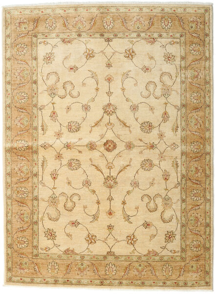 Ziegler Rug 171X230 Authentic  Oriental Handknotted Light Brown/Dark Beige/Beige (Wool, Pakistan)