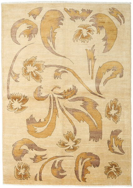 Ziegler Modern Rug 169X228 Authentic  Modern Handknotted Beige/Dark Beige/Light Brown (Wool, Pakistan)