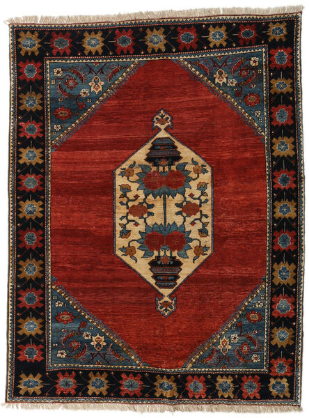 Ziegler Modern Rug 177X213 Authentic  Modern Handknotted Black/Crimson Red (Wool, Pakistan)