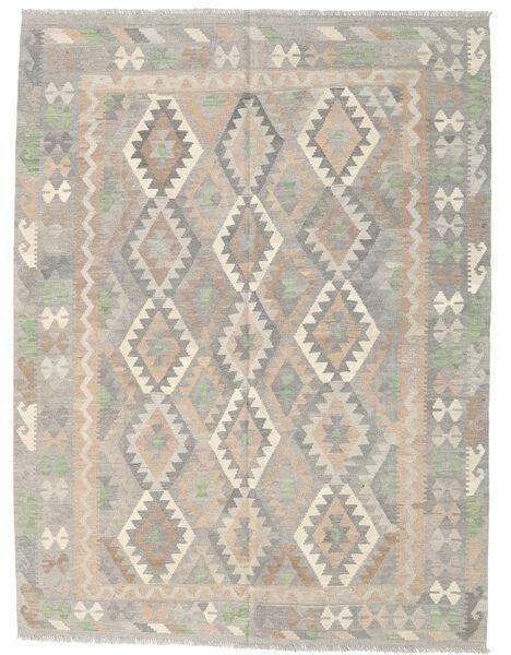 Kilim Afghan Old Style Rug 177X236 Authentic  Oriental Handwoven Light Grey/Beige (Wool, Afghanistan)