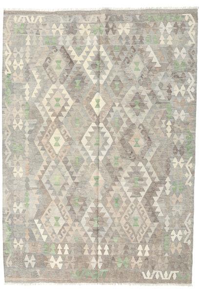Kilim Afghan Old Style Rug 172X242 Authentic  Oriental Handwoven Light Grey/Dark Beige (Wool, Afghanistan)