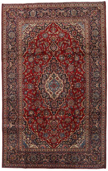 Keshan Rug 200X320 Authentic  Oriental Handknotted Dark Red/Dark Grey (Wool, Persia/Iran)