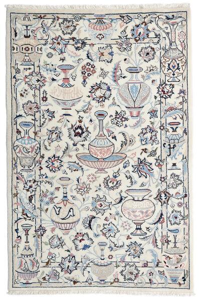 Kashmar Rug 105X157 Authentic  Oriental Handknotted Light Grey/Beige (Wool, Persia/Iran)