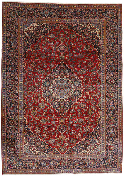 Najafabad Rug 267X372 Authentic  Oriental Handknotted Dark Red/Black Large (Wool, Persia/Iran)