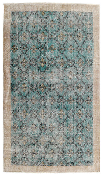 Vintage Heritage Rug 112X197 Authentic  Modern Handknotted Light Grey/Turquoise Blue (Wool, Persia/Iran)