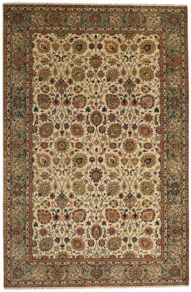 Farahan Rug 231X350 Authentic  Oriental Handknotted Brown/Light Brown (Wool, Pakistan)