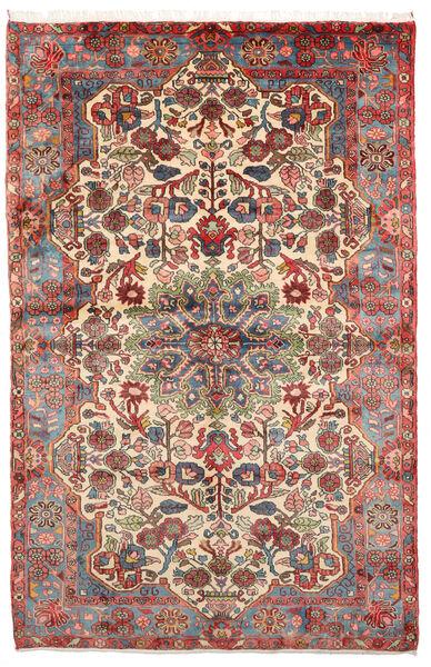 Nahavand Old Rug 152X236 Authentic  Oriental Handknotted Light Brown/Dark Brown (Wool, Persia/Iran)