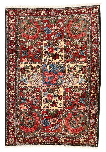 Bakhtiari Collectible Rug 106X154 Authentic  Oriental Handknotted Dark Brown/Dark Red (Wool, Persia/Iran)