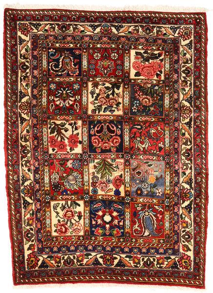 Bakhtiari Collectible Rug 107X143 Authentic  Oriental Handknotted Dark Brown/Dark Red (Wool, Persia/Iran)