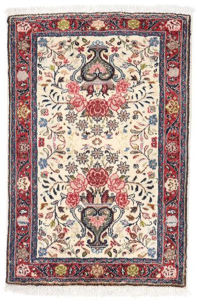 Sarouk Rug 56X84 Authentic  Oriental Handknotted Beige/Light Grey (Wool, Persia/Iran)