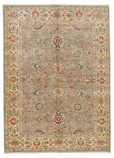 Ziegler Ariana Rug 151X201 Authentic  Oriental Handknotted Light Brown/Light Grey (Wool, Afghanistan)
