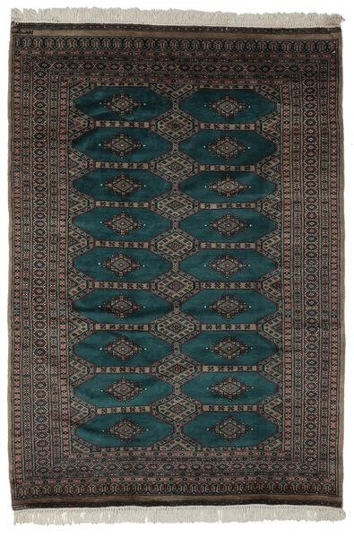 Pakistan Bokhara 2Ply Rug 163X230 Authentic  Oriental Handknotted Black (Wool, Pakistan)
