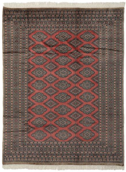 Pakistan Bokhara 2Ply Rug 184X237 Authentic  Oriental Handknotted Black/Dark Brown (Wool, Pakistan)
