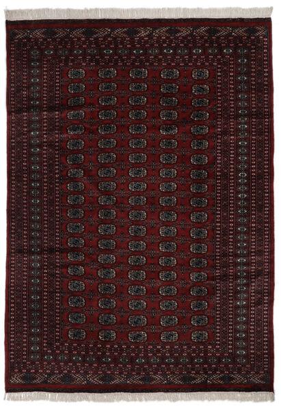 Pakistan Bokhara 2Ply Rug 184X262 Authentic  Oriental Handknotted Black (Wool, Pakistan)