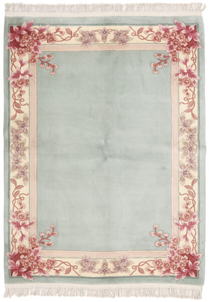 China 90 Line Rug 170X230 Authentic  Oriental Handknotted Light Grey (Wool, China)