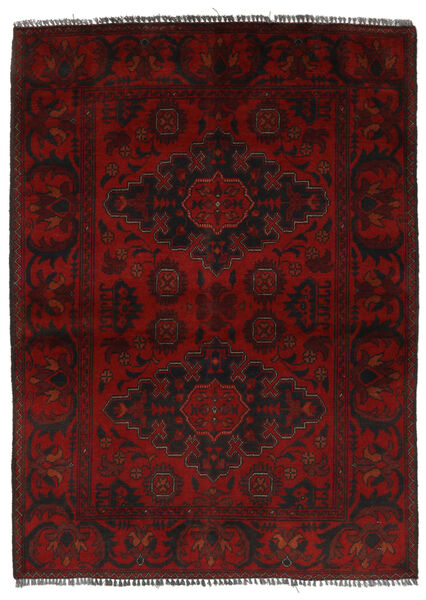 Afghan Khal Mohammadi Rug 104X149 Authentic  Oriental Handknotted Black (Wool, Afghanistan)