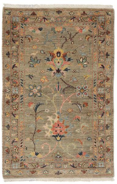 Ziegler Ariana Rug 80X124 Authentic  Oriental Handknotted Dark Brown/Brown (Wool, Afghanistan)