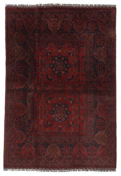 Afghan Khal Mohammadi Rug 103X151 Authentic  Oriental Handknotted Black/Beige (Wool, Afghanistan)