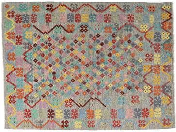 Handwoven Kutchi Kilim Wool Rug From Afghanistan Bedroom Living Room Hallway Home Decor Furniture Old Style Carpet Free UK Delivery