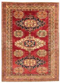 Kazak Rug 168X240 Authentic  Oriental Handknotted (Wool, Pakistan)