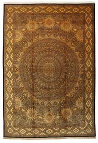 Qum Silk Signed: Iran Qum Jamshidi Rug 340X500 Authentic  Oriental Handknotted Large (Silk, Persia/Iran)