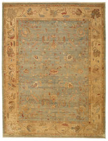 Oushak Rug 279X366 Authentic  Oriental Handknotted Large (Wool, Turkey)