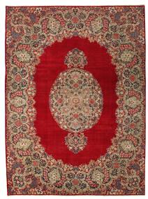 Kerman Patina Rug 277X374 Authentic  Oriental Handknotted Dark Red/Light Brown Large (Wool, Persia/Iran)