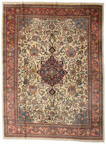 Sarouk Rug 280X370 Authentic  Oriental Handknotted Light Brown/Dark Grey Large (Wool, Persia/Iran)