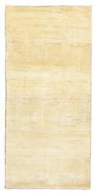 Gabbeh Persia Rug 81X171 Authentic  Modern Handknotted Hallway Runner  Yellow/Beige (Wool, Persia/Iran)