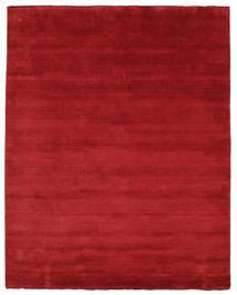 Handloom Fringes - Dark Red Rug 200X250 Modern Crimson Red (Wool, India)