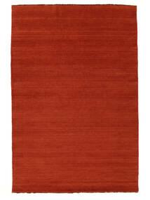 Handloom Fringes - Rust/Red Rug 160X230 Modern Rust Red/Orange (Wool, India)