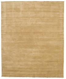 Handloom Fringes - Beige Rug 250X300 Modern Dark Beige/Beige Large (Wool, India)